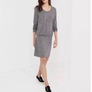 Lou & Grey drop waist long sleeve dress